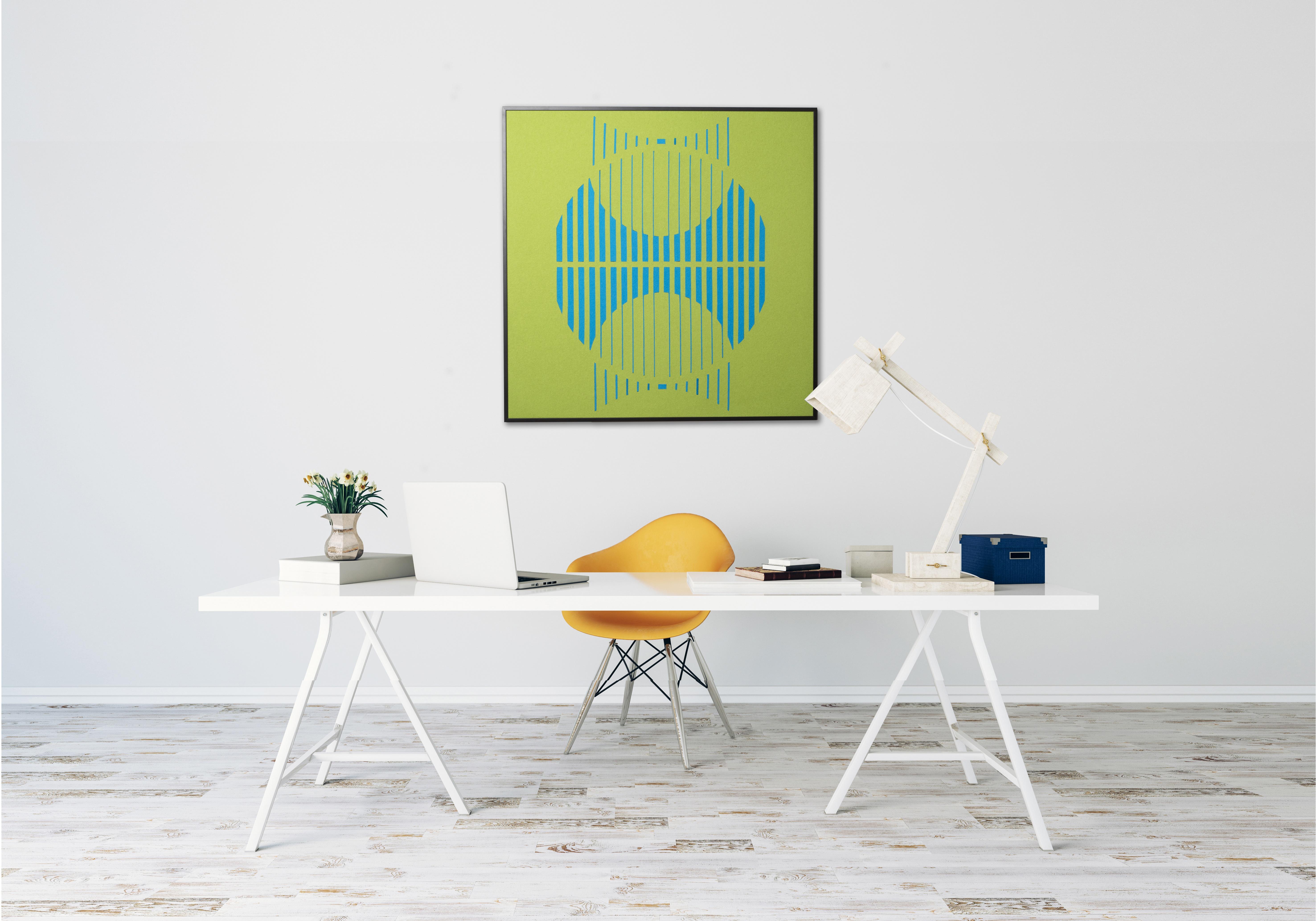 Solar artwork home office